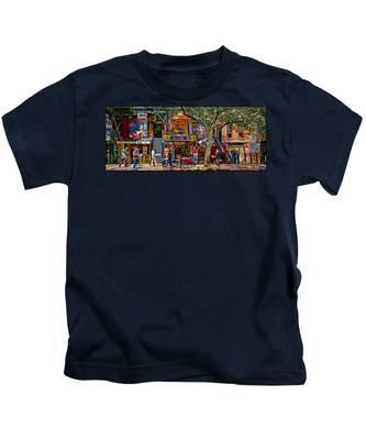 St Marks Place Kids T-Shirt