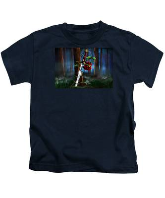 Sword And Rose Kids T-Shirt