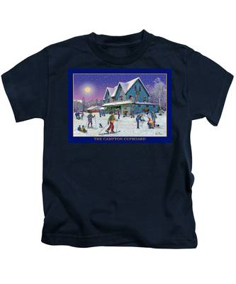 The Morning After At Campton New Hampshire Kids T-Shirt