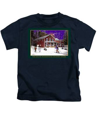 The South Woodstock Country Store Kids T-Shirt
