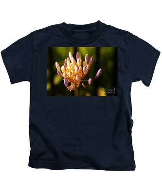 Waiting To Blossom Into Beauty Kids T-Shirt