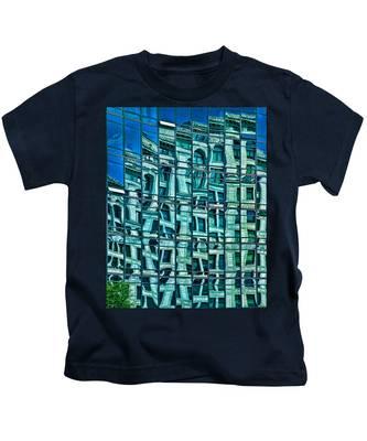 Windows In Windows Kids T-Shirt
