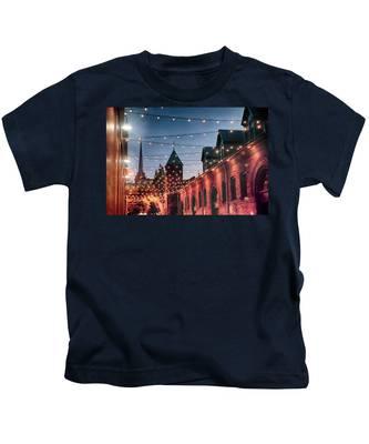 Dusk Lights Kids T-Shirt