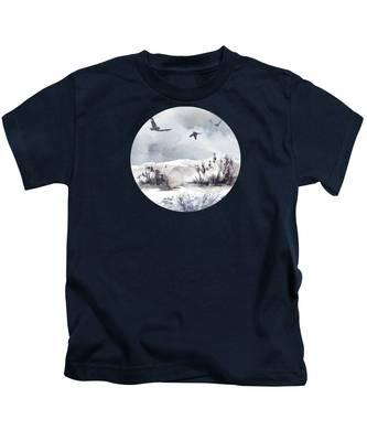 Sandy Beach Kids T-Shirts