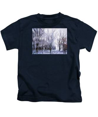 Winter Lace Kids T-Shirt