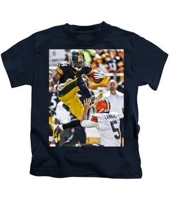 Football Antonio Brown Kids T-Shirts