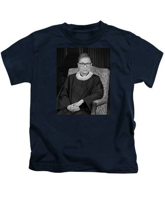 Ruth Bader Ginsburg Kids T Shirts Fine Art America
