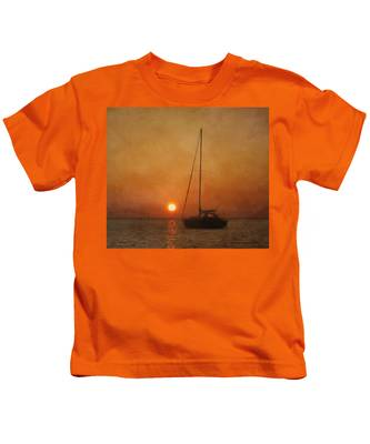 A Ship In The Night Kids T-Shirt