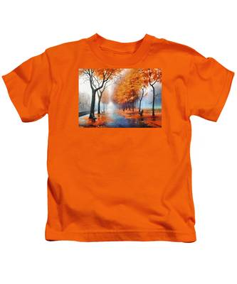 Autumn Boulevard Kids T-Shirt