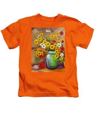 Flowers - Still Life Kids T-Shirt