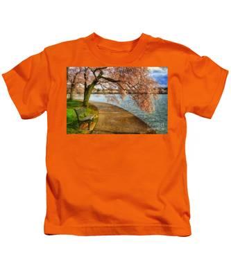 Meet Me At Our Bench Kids T-Shirt