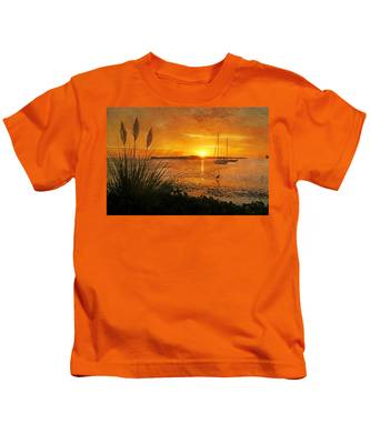 Morning Light - Florida Sunrise Kids T-Shirt