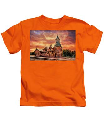 Point Of Rocks Train Station  Kids T-Shirt