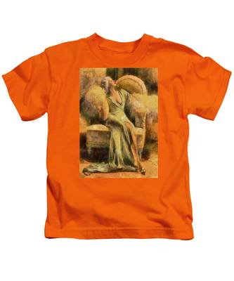 Portrait Of Jean Harlow Kids T-Shirt