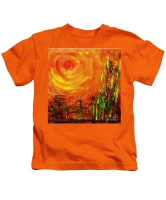 The Sun At The End Of The World Kids T-Shirt