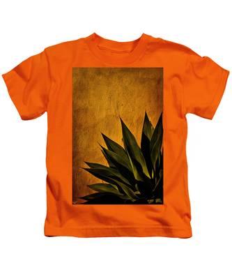 Adobe And Agave At Sundown Kids T-Shirt