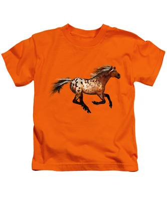 An Appaloosa Called Ginger Kids T-Shirt