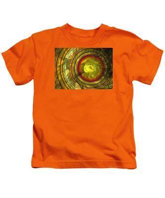 Apollo - Abstract Art Kids T-Shirt