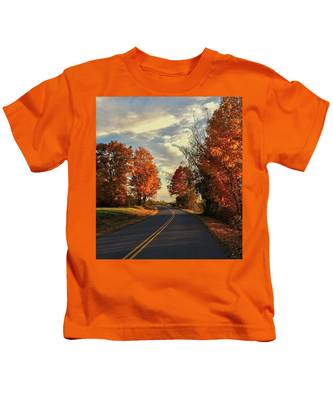 Autumn Drive Kids T-Shirt