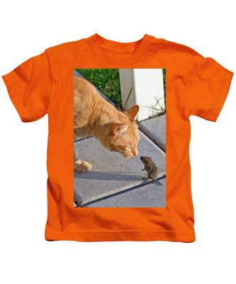 Cat And Mouse Kids T-Shirt