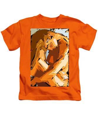 Cubism Series Ix Kids T-Shirt