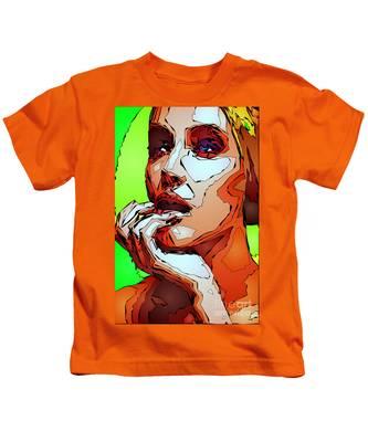 Female Expressions Kids T-Shirt