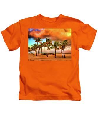 Crandon Park Beach Kids T-Shirt