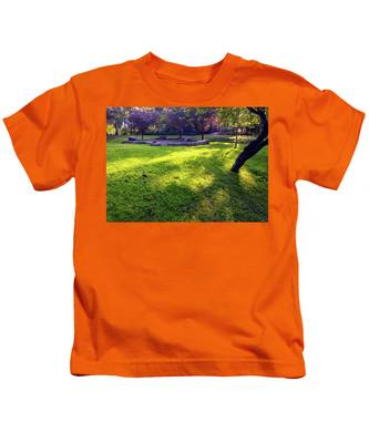 Late Summer Light Kids T-Shirt
