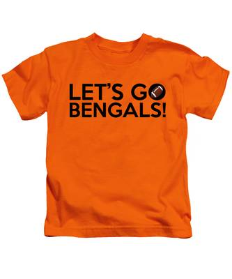 Let's Go Bengals Kids T-Shirt