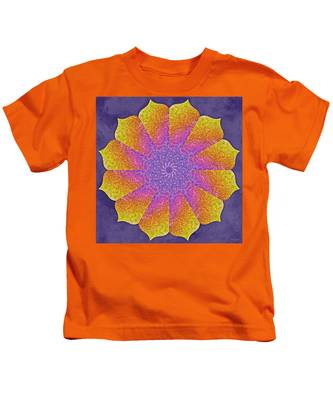 Kids T-Shirt featuring the digital art Mothers Womb by Derek Gedney