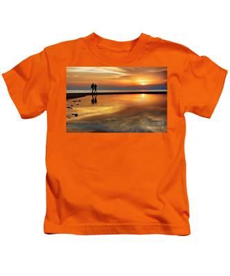 Orange Sunset   Kids T-Shirt