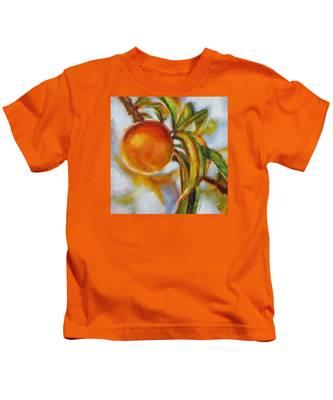 Peach Kids T-Shirt