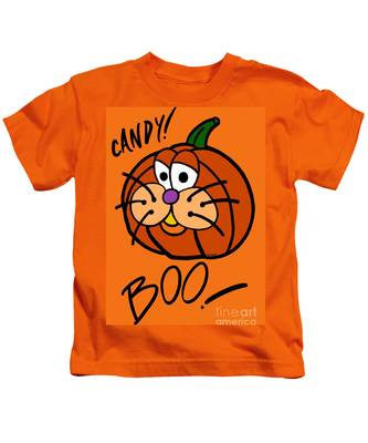 Pumpkincat Kids T-Shirt