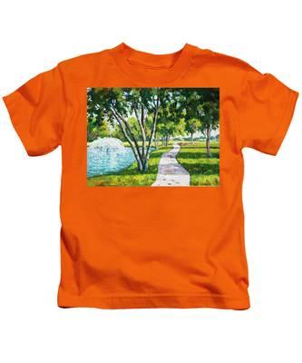 Rcc Golf Course Kids T-Shirt