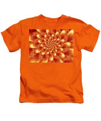 Spinning Gold Kids T-Shirt