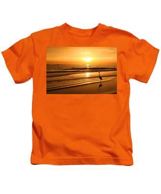 Sunset Gold Kids T-Shirt