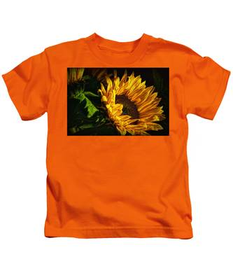 Warmth Of The Sunflower Kids T-Shirt