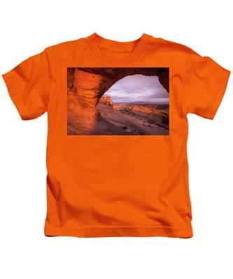 Window To Arch Kids T-Shirt
