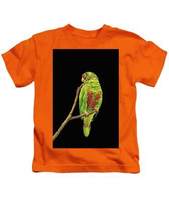 Colorful Parrot Kids T-Shirt