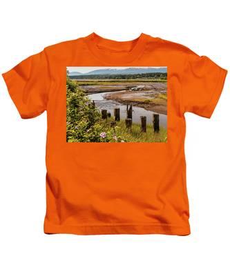 Courtenay River Estuary Kids T-Shirt