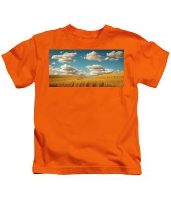 Grains Of Palouse Kids T-Shirt