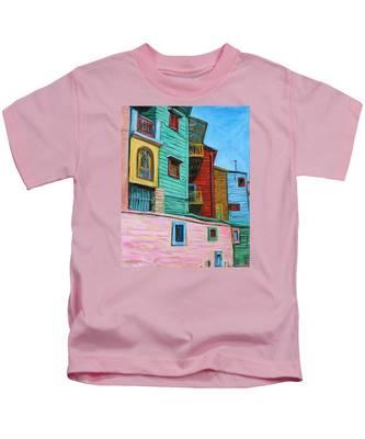 Geometric Colours II Kids T-Shirt