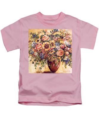 Late Summer Bouquet Kids T-Shirt