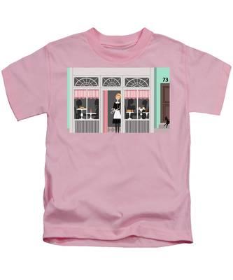 World/'s Best Waitress Pink Kids T-Shirt