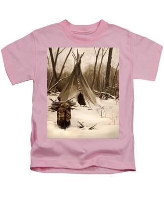 Wood Gatherer Kids T-Shirt