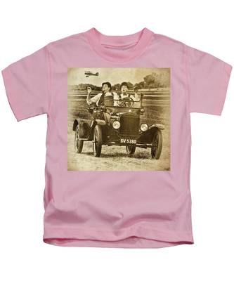 Not Likely Laurel And Hardly Hardy Kids T-Shirt