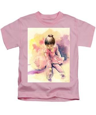 Little Ballerina Kids T-Shirt