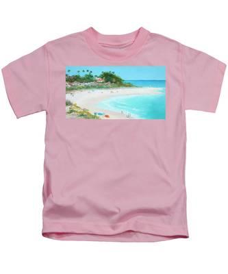 San Clemente Beach California Kids T-Shirt