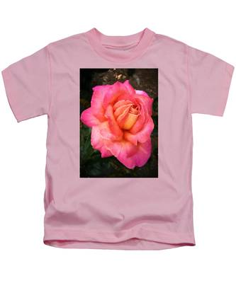 Blushing Rose Kids T-Shirt