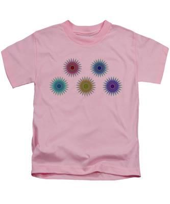 Five Flowers Kids T-Shirt
